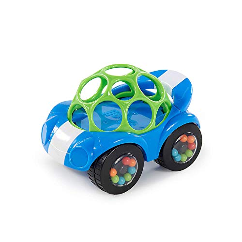 Bright Starts Rattle & Roll Buggie Easy Grasp Push Vehicle Toy