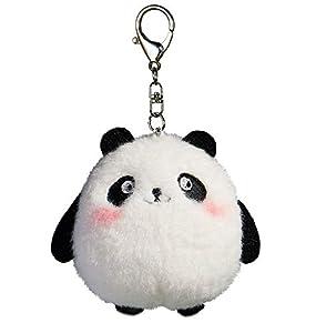 """Plush Panda Keychain Stuffed Animal Ornaments Pendant 4"""""""