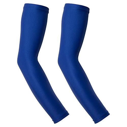 Wellcls ウェルクルズ Wellcls ウェルクルズ サイクリング用 アームカバー 青 Sサイズ