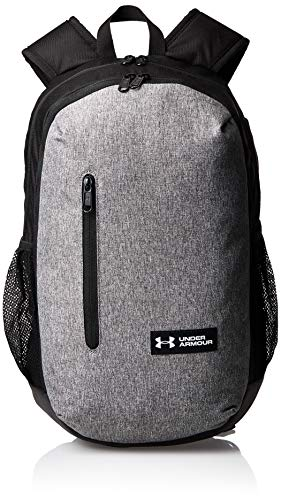 Under Armour UA Roland Backpack Mochila, Unisex, Gris (Graphite Medium Heather/Black/White), Talla única