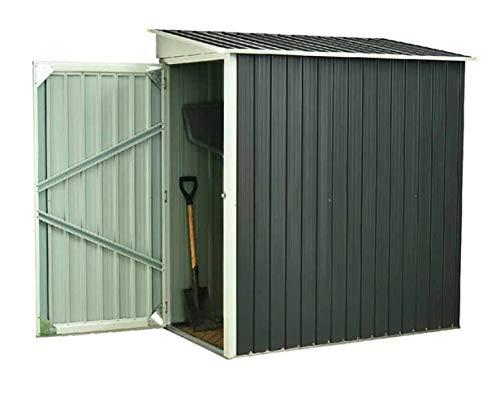 osoltus Metall Gerätehaus Fahrradgarage Geräteschuppen 2m²