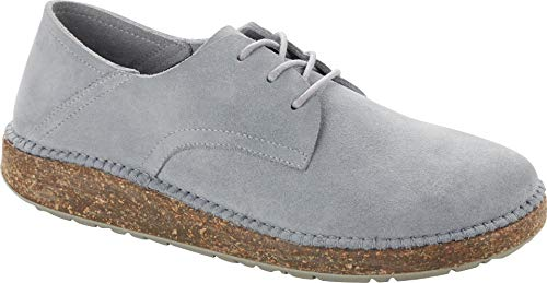 Birkenstock Gary Suede Leather Dusty Teal Women´s Lace-up Shoes US W 11