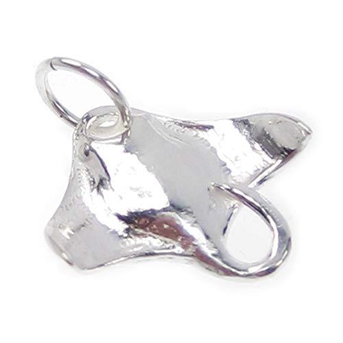 Manta Ray sterling silver charm .925 x 1 Mantas Rays charms -SFP