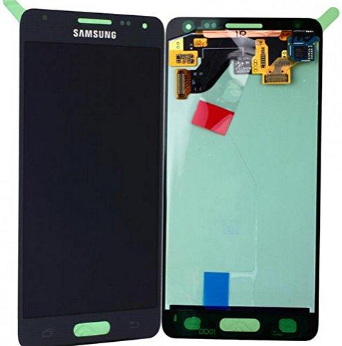 Samsung Galaxy Alpha SM-G850F schwarz/black Display-Modul Touchscreen Digitizer GH97-16386A