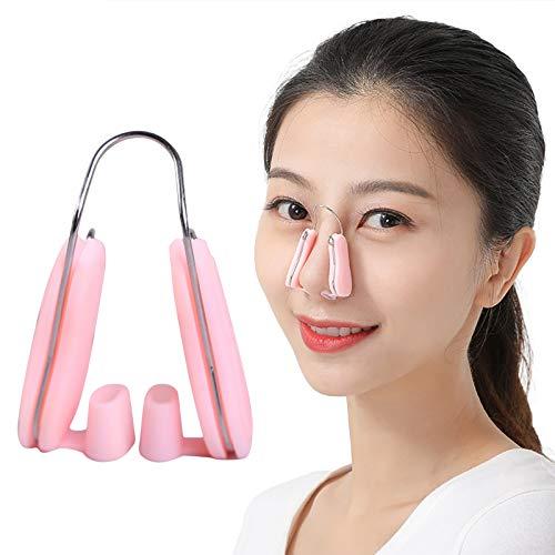 Clip de levantador de nariz, alisador de nariz sin dolor, suave silicona para nariz ancha y hombres
