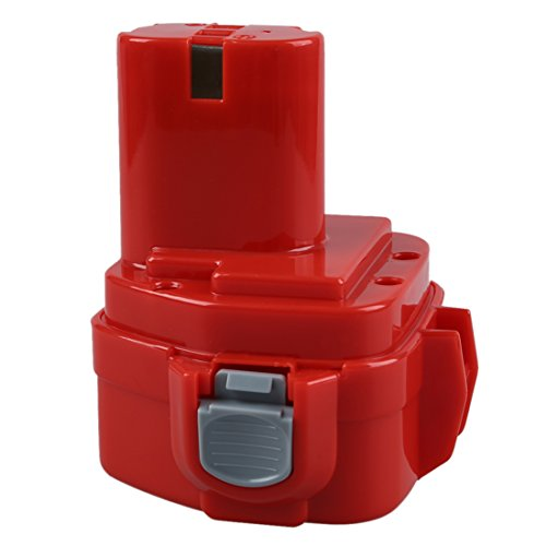 WOVELOT Nueva bateria de herramienta de energia de 2.0AH 12V para 1220 1222 193981-6 6227D 6313D 6317D 6217DWDE 6217DWDLE 6223D 6223DE 6223DW 6223DWE 6227D 6227DW, rojo