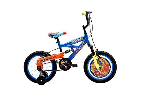 VELOCI Bicicleta Warriors Rodada 16 Azul