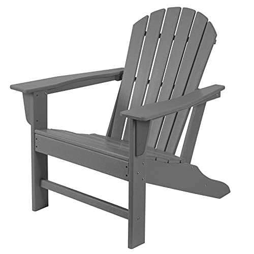 HDPE Adirondack Chair, Patio Outdoor Chairs, Plastic Resin...
