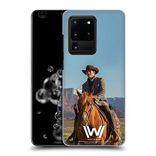 Head Case Designs Offizielle Westworld Teddy Flood Darsteller Harte Rueckseiten Huelle kompatibel mit Samsung Galaxy S20 Ultra 5G