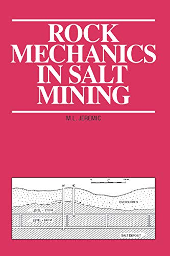 Rock Mechanics in Salt Mining (English Edition)