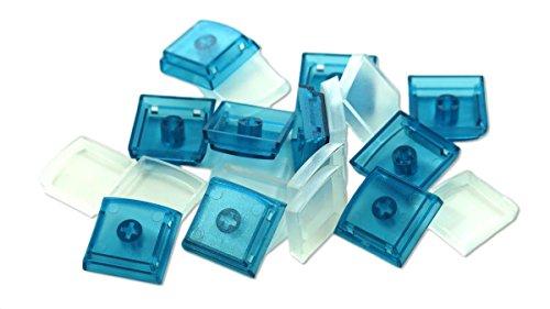 X-keys Keycap Cherry MX Compatible (1x1, Blue, 10 Pack)