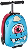 ZincFlyte Kid's Luggage Scooter 15' - Sid the Cyclops, Blue