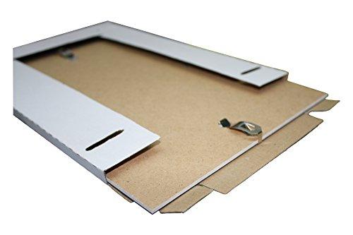Bilderrahmen Rahmenlos Bildhalter CLIP Rahmen KLAR PLEXIGLAS DIN A5 A4 A3 20x30 ab 10x15 bis 50x70 (50 x 70 cm - B2)