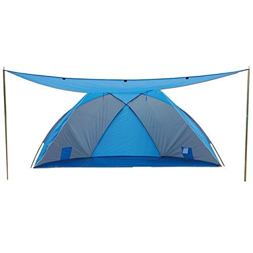 Explorer Strandtent met uv-factor 80 + zonnetent strandtent strandschelp tent strand windscherm