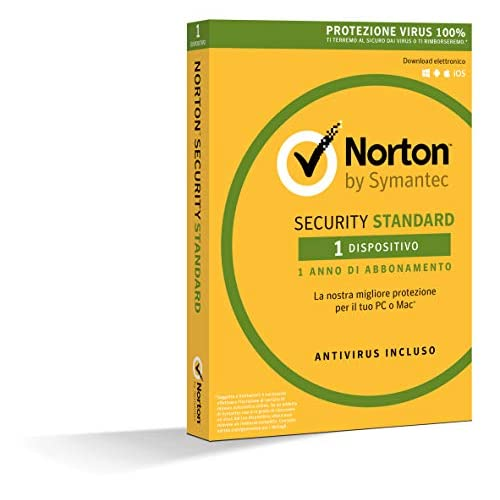 Norton Security Standard 3.0 It 1 User 1