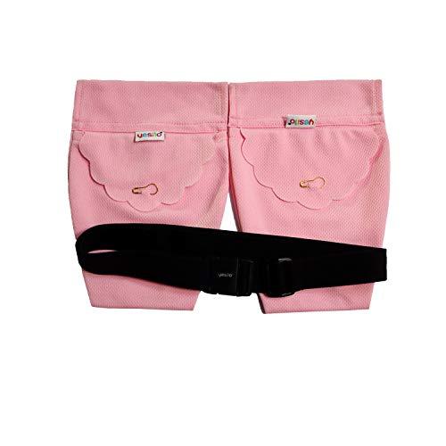 Yesito Mastektomie-Abflussbeutel mit Duschbeutel, Drainage für Brustkrebs-Operationen, zur Erholung von Entwässerung, rosa Wabengitter (Pink)