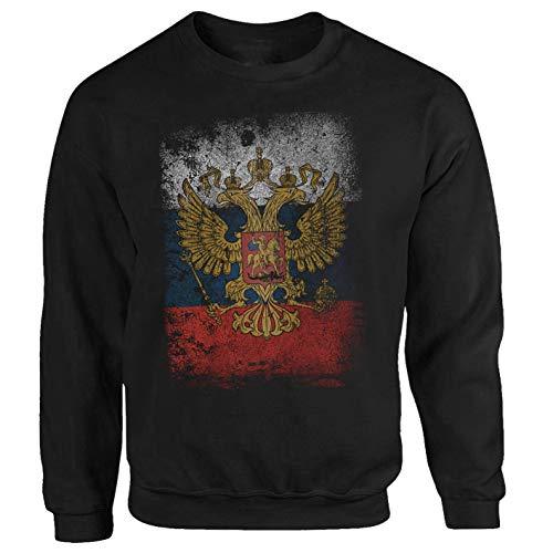 P-T-D Russland Sweatshirt schwarz (S)