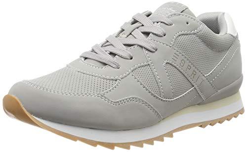 ESPRIT Damen Astro LU Sneaker, Grau (Medium Grey 035), 39 EU
