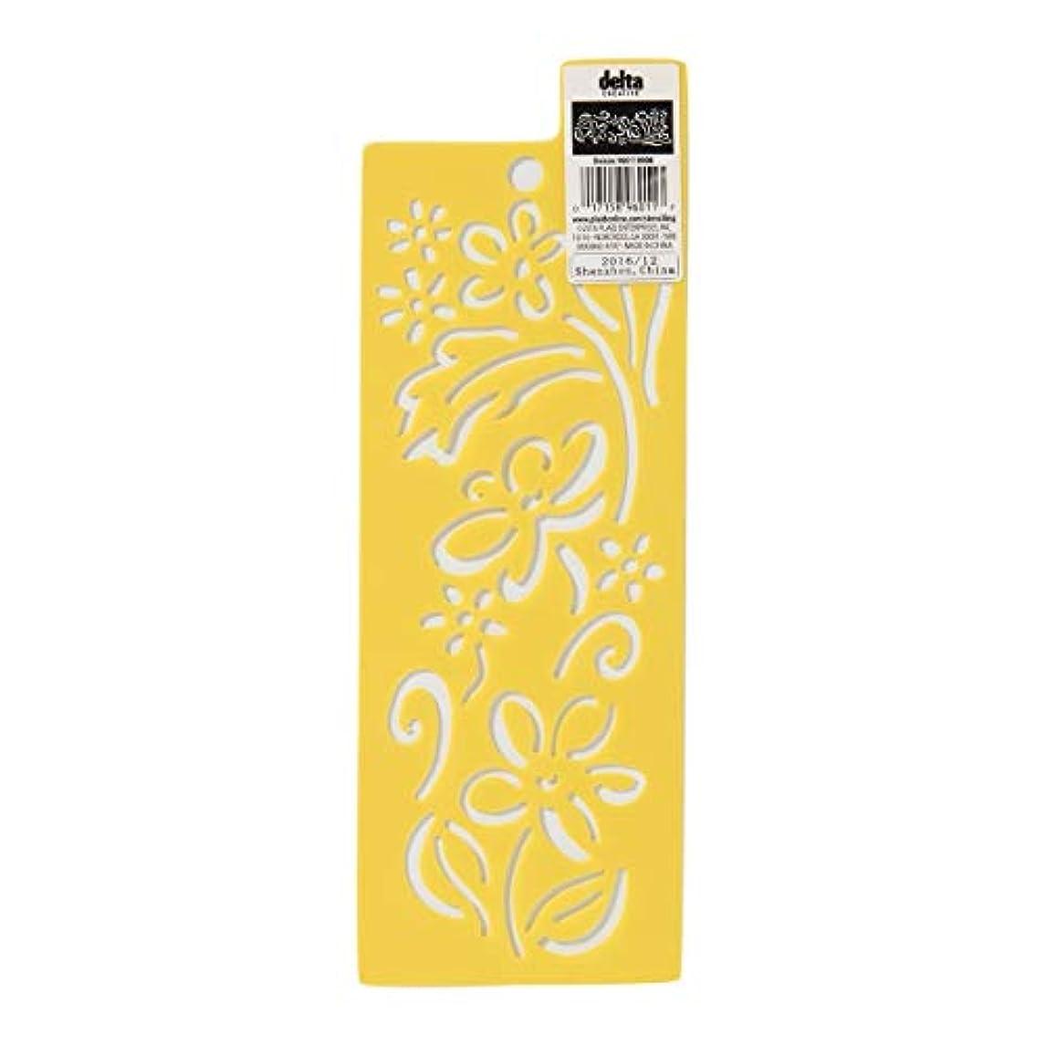Delta Creative 960110006 Daisies Everyday Design Stencil ypjbr98804264031
