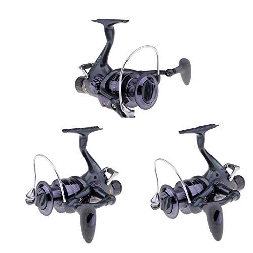 N/A/a 3 Piezas 40FR Baitfeeder Spinning Fishing Reel Delantero Trasero Freno Doble