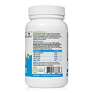 Glandex Dog & Cat Anal Gland Sac Fiber Supplement Powder with Pumpkin, Digestive Enzymes & Probiotics – Vet Recommended Healthy Bowels & Digestion - Boot The Scoot 2.5oz Beef Liver - by Vetnique Labs
