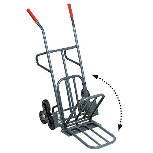 Ribimex PRCD6R Carrello 6 Ruote Portata 100/250 kg