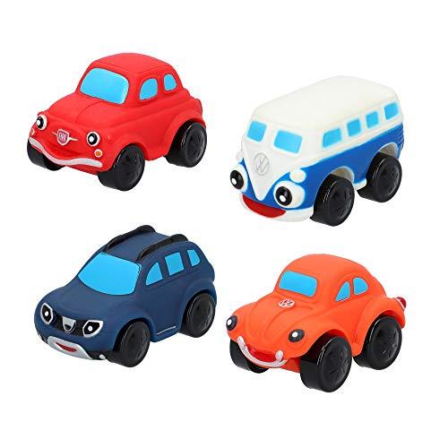 Coches de juguete blanditos para niños