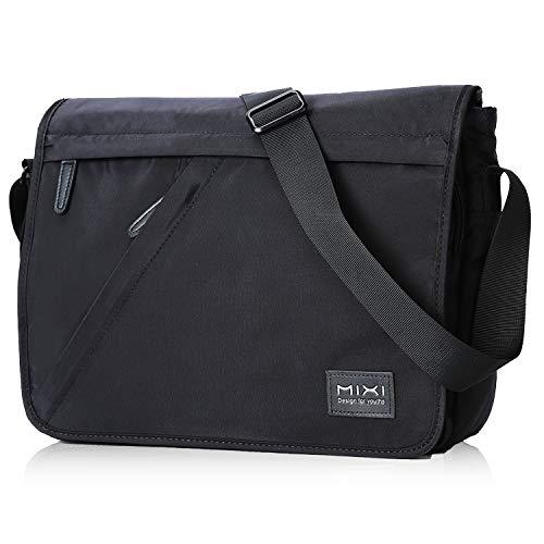 Messenger Bag 14 Zoll 10L Umhängetasche Wasserabweisende Schultertasche Herrentasche Waschbare Laptoptasche für Laptop unter 13