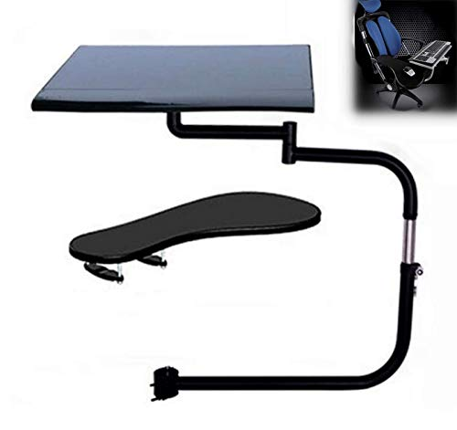 Laptop Stand Table, Ergonomic Laptop/Keyboard/Mouse Stand-Mount for Workstation/Video Gaming/Etc, Portable Laptop Desk Notebook Stand Reading Holder Breakfast Tray