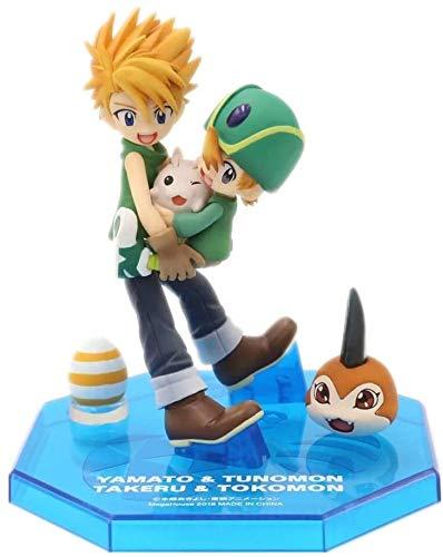 ZPTECH Exquisitas figuras de acción Digimon Figuras de anime Figuras de acción 4 Estilo (Color: D) Feng (Color: A)