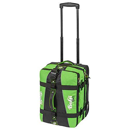 BoGi Bag BoGi Bag Koffer, 52 cm, 40 Liter, grün/schwarz