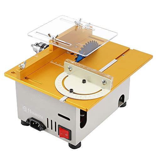 Huanyu Mini Table Saw Multifunctional Liftable...