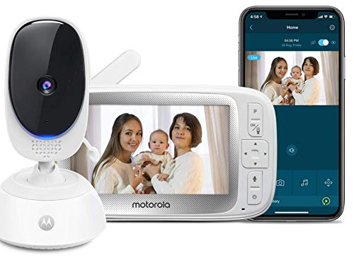 Motorola Connect40 by Hubble Connected Video Baby Monitor