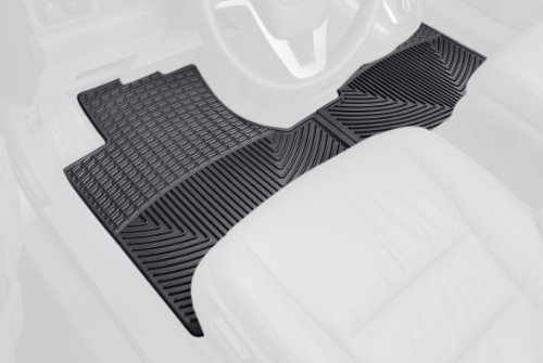 WeatherTech Trim to Fit Front Rubber Mats for Honda CR-V, Black
