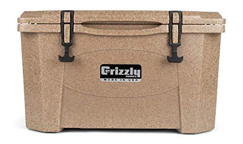 Grizzly 40 Cooler, Sandstone, G40, 40 QT