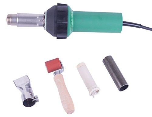 Pistola de aire caliente de 120 V 1600 W para soldador de plástico de mano, pistola de calor de soldadura de vinilo