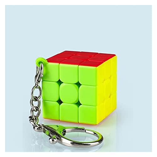 Sdesign Mini Pedido Mini Cube Diversión Unzip Pequeño Llavero Mochila Pendiente Juguete para Principiantes para niños (Color : C)