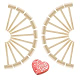 Mini Wooden Hammers Wooden Crab Mallet Seafood Shellfish Kids Pounding Toy (20pcs)