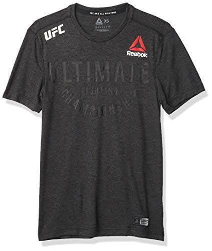 Reebok UFC Fight Night Authentic Ultimate Jersey, Black, 4X-Large