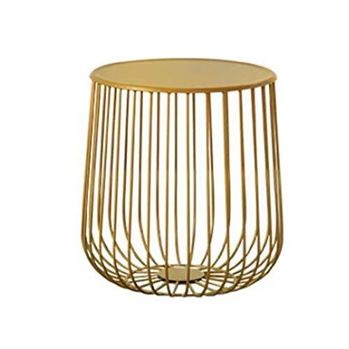 coffee table. Small round table. Small square tabl - Tables de la mesa de café en forma de calabaza del norte, mesa redonda simple y creativa, mesa de metal en la sala de estar, mesa lateral, mesa de
