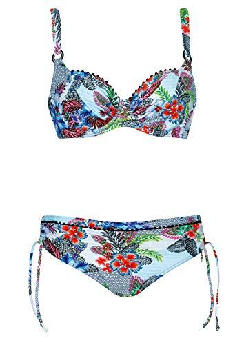 OPERA Bikini Sweet Heart Cup D, Farbe Weiss, Größe 40