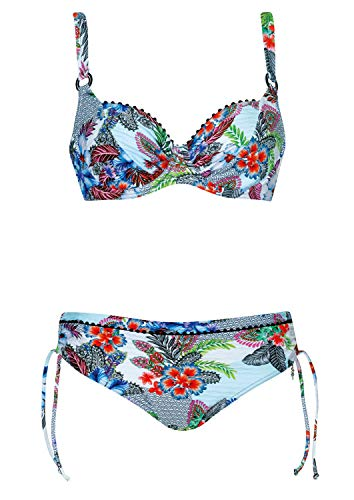 OPERA Bikini Sweet Heart Cup D, Farbe Weiss, Größe 42
