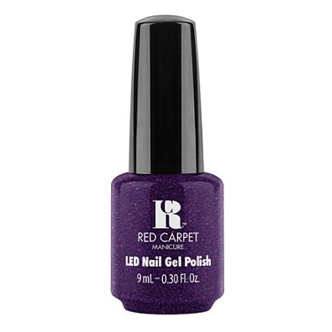 不屈ページ実用的Red Carpet Manicure - LED Nail Gel Polish - Fashion Forward - 0.3oz / 9ml