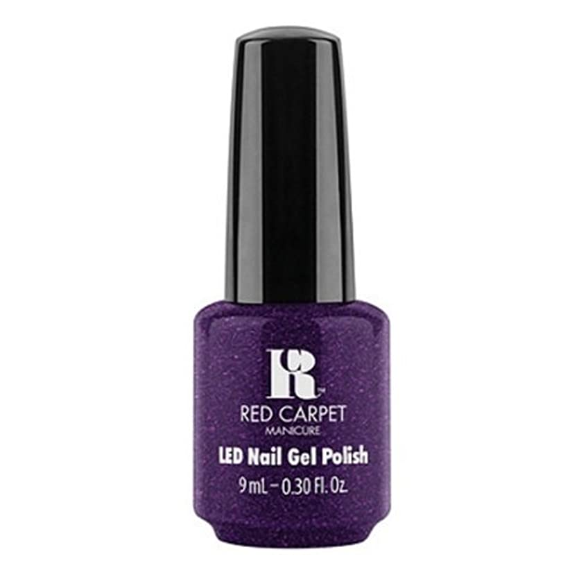 該当する見る人抜け目がないRed Carpet Manicure - LED Nail Gel Polish - Fashion Forward - 0.3oz / 9ml