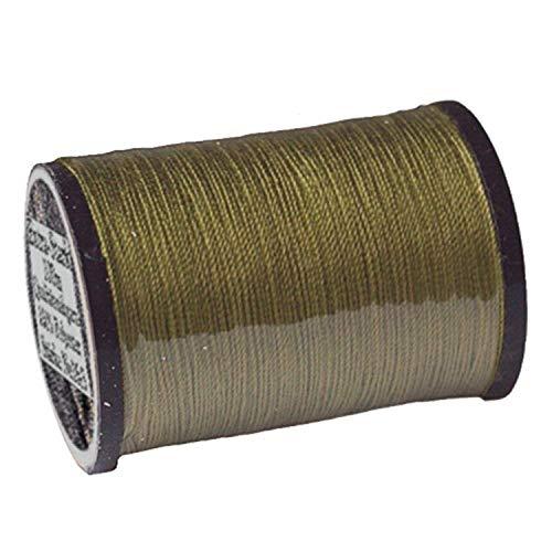 1 spoel van ca. 100m kwaliteit - naaigaren, extra sterk, kleurnr.1049 olijf, Ne 16/3, 100% polyester voor de naaimachine garen, sl, 1761