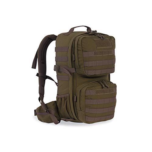 Tasmanian Tiger TT Combat Pack MKII Molle-Kompatibler EDC-Daypack mit vielen Fächern Outdoor-Rucksack für Damen und Herren 22l Volumen, Oliv