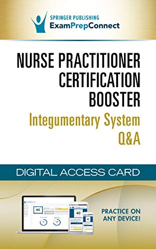 NP Certification Booster Integumentary System Q&A (Digital Access Card: 6-Month Subscription): Web/i
