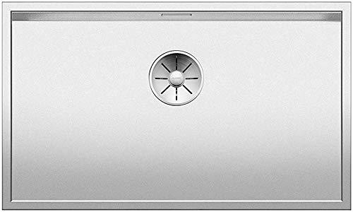 Blanco Zerox 700-U Durinox, Spülbecken, Küchenspüle, für den Unterbau, Unterbaubecken, Nullradius-Design, InFino-Auslauf, Edelstahl Durinox; 521560