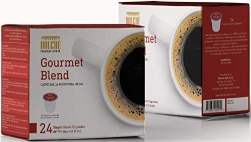 Dolché, Capsule di Caffè Americano miscela Gourmet, K-cup compatibili Keurig 2.0, box 96 capsule (4x24)