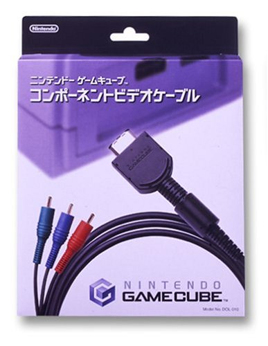 Câble Video Component Nintendo GameCube Officiel